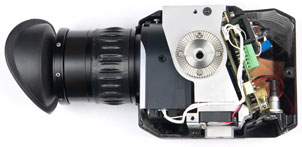 Cut-away of the ForthDD QXGA-EVF demonstrator